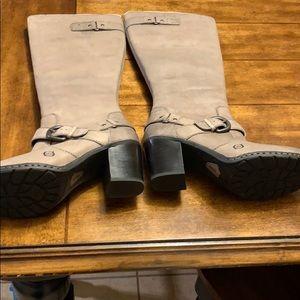 Born grayish boots